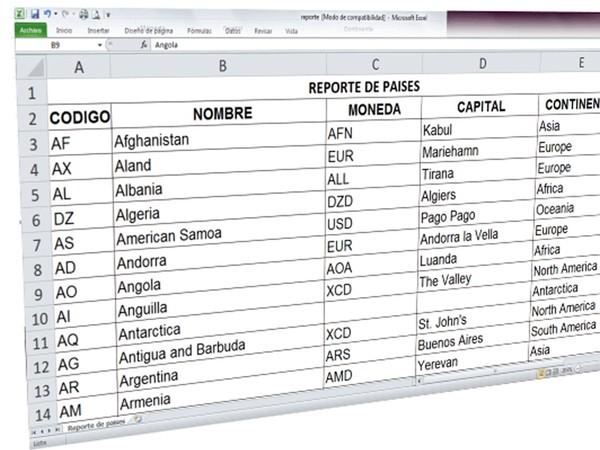Reportes en Excel con PHP y MySQL