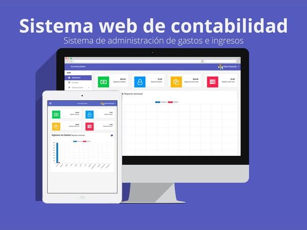 Sistema web de contabilidad (Accounting System)