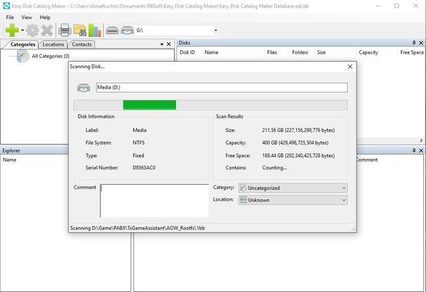 RBSoft Easy Disk Catalog Maker Pro Lifetime Activation