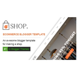 R-Shop Ecommerce Responsive Shopping Blogger Template