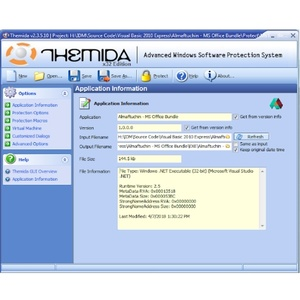 Original Themida 2.3.5.10 Full Pro Retail Version Lifetime License