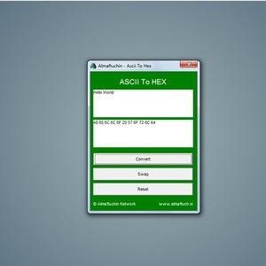 Almaftuchin Hex X Ascii v1.0