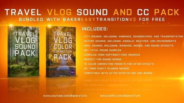 Baker Easy Transition V2 Preset Bundle (Preset, CC, Sound FX)