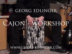 Gratis Promo Video - Cajon 1 Workshop & 11 Cajon Solos