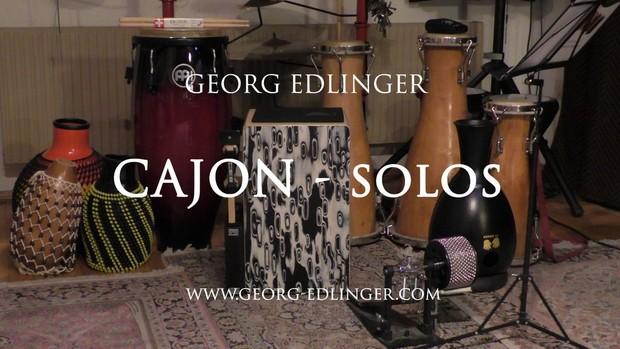 11 Cajon Solos - Solo 3 - Afro 1