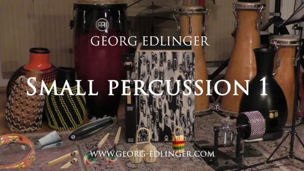 Small Percussion 1 - Guiro