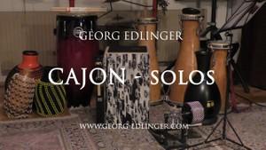 11 Cajon Solos - Solo 1 - Rock 1