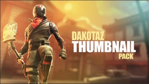 DAKOTAZ - THUMBNAIL STYLE - PHOTOSHOP PACK BACKGROUNDS + CHARACTERS