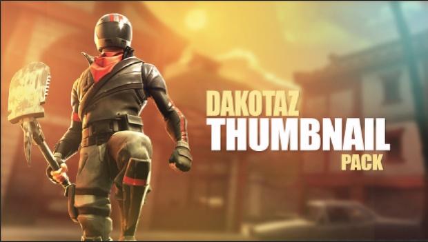 DAKOTAZ - THUMBNAIL STYLE - PHOTOSHOP PACK BACKGROUNDS + CHARACTERS