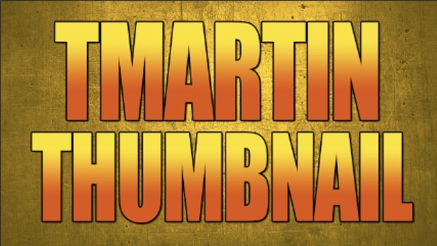 TMARTIN TEXT THUMBNAIL STYLE PSD DOWNLOAD