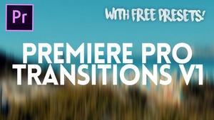 PREMIERE PRO TRANSITIONS V1 - FULL VERSION