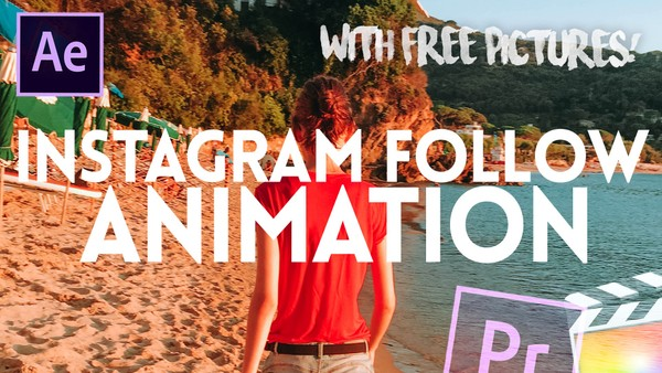 Instagram Follow Animation - Sound Effects, PNG Phone and Mouse Pointer