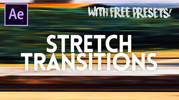 stretch transitions free version adobe after effects