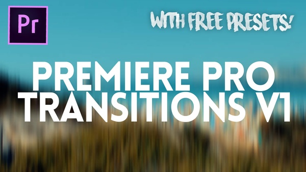 Premiere Pro Transitions v1 - FREE EDITION