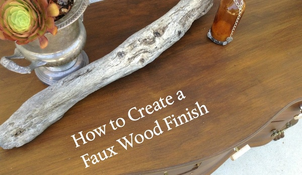 How to Create Faux Wood