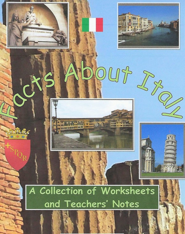 Facts About Italy: A Booklet of Worksheets
