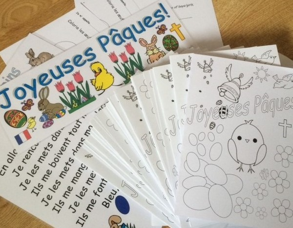 French Easter Resources