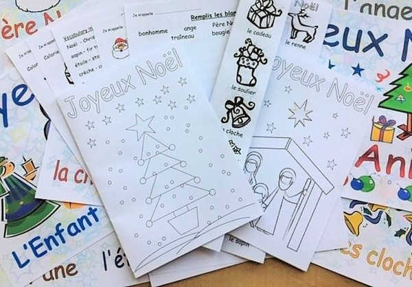 French Christmas Resources Pack