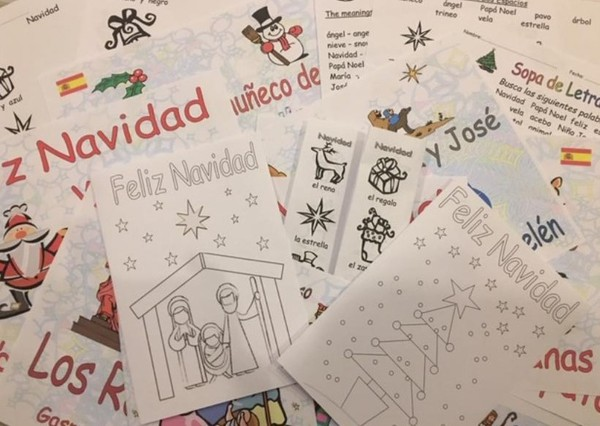 Spanish Christmas Resources, for primary school