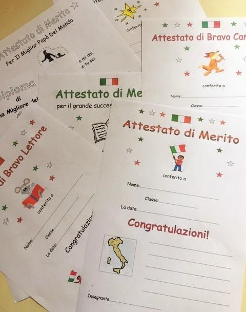 Italian Certificates of Merit