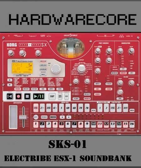Korg Electribe ESX-1 Sample Set:  SKS-01