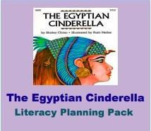 Egyptian Cinderella Planning Pack
