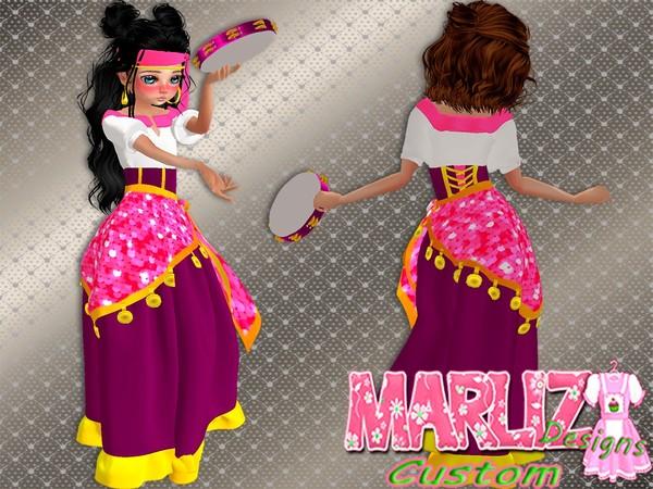 Pink Gipsy Costume (Free 4 VIPS)