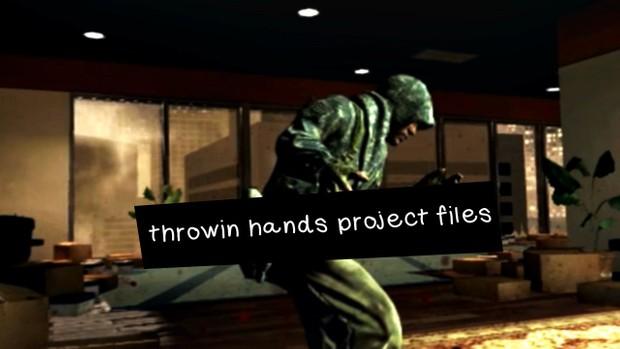 THROWIN' HANDZ Project Files