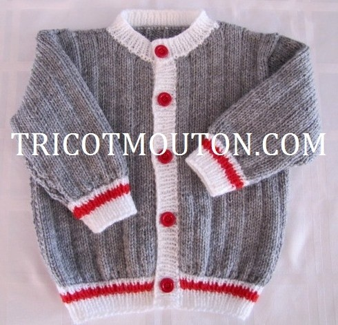 VBB-01  Vest for baby - Country Style Collection