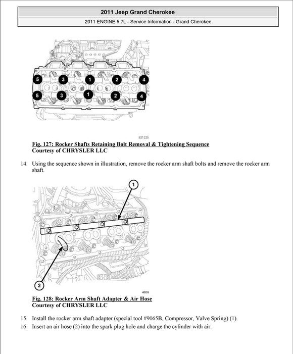 2011-2013 Jeep Grand Cherokee, OEM Service and Repair Manual and Wiring on
