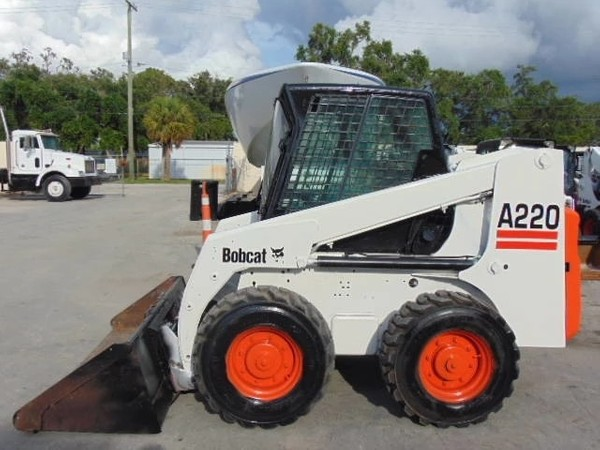 Bobcat A220 Turbo and Turbo High Flow, OEM Service Repair Manual and Parts Manual.