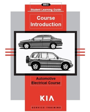 Kia Automotive Electrical Training Course