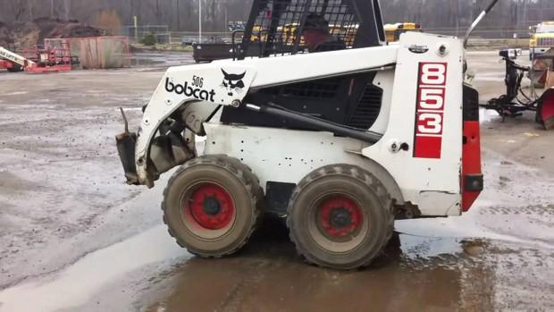 bobcat 853 and 853h skid steer loader, oem service and - oem auto repair  manuals