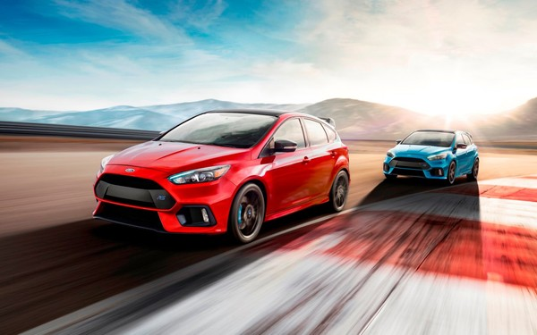 2015-2018 Ford Focus RS III, OEM Service & Repair Manual.
