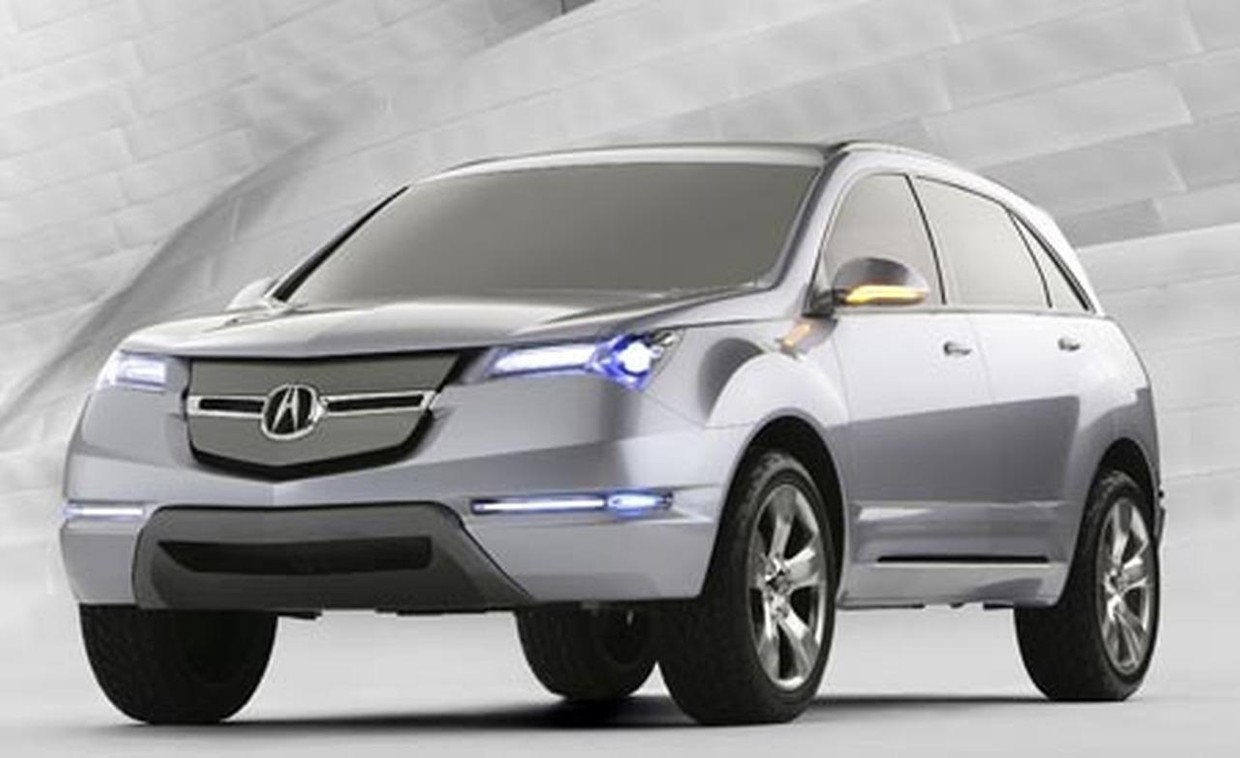 2007 Acura Mdx Original Factory Workshop Service And R
