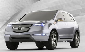 2007 Acura MDX Original Factory Workshop Service and Repair Manual PDF