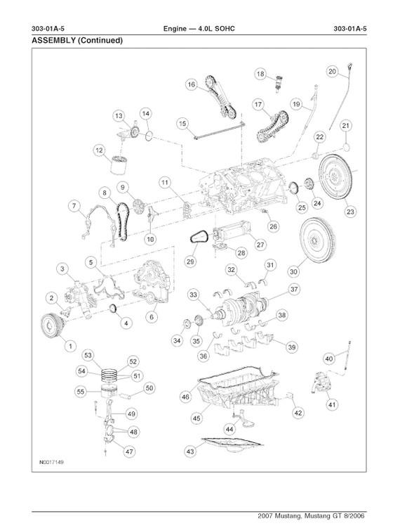 2005-2010 Ford Mustang  Oem Service And Repair Manual