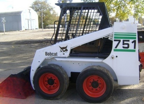 Bobcat 751, OEM Service and Repair Manual and Parts Manual.