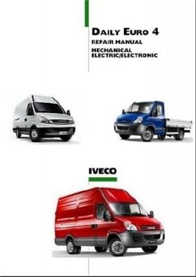 2006-2009 Iveco Daily Euro 4, OEM Workshop Service and Repair Manual