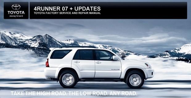 2007 Toyota 4Runner OEM Factory Service and Repair Manual (PDF)