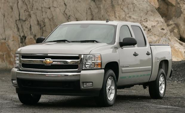 2007-2009 Chevrolet Silverado & Sierra 1500, OEM Service and Repair Manual (PDF)