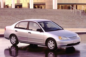 2002 Honda Civic Genuin OEM Service and Repair Manual