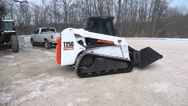Bobcat T250 Turbo, T250 Turbo Highflow, OEM Service and Repair with Parts Manuals.