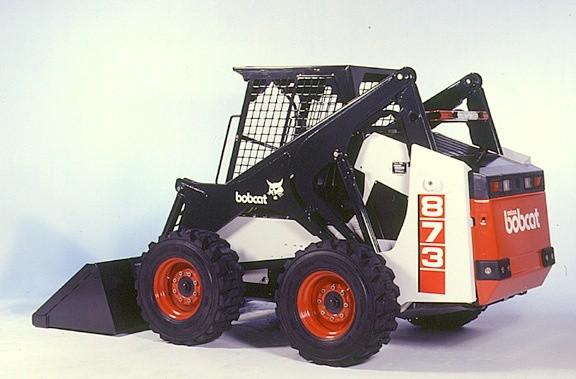 Bobcat 873, OEM Service Repair Manual  and Parts Manual.