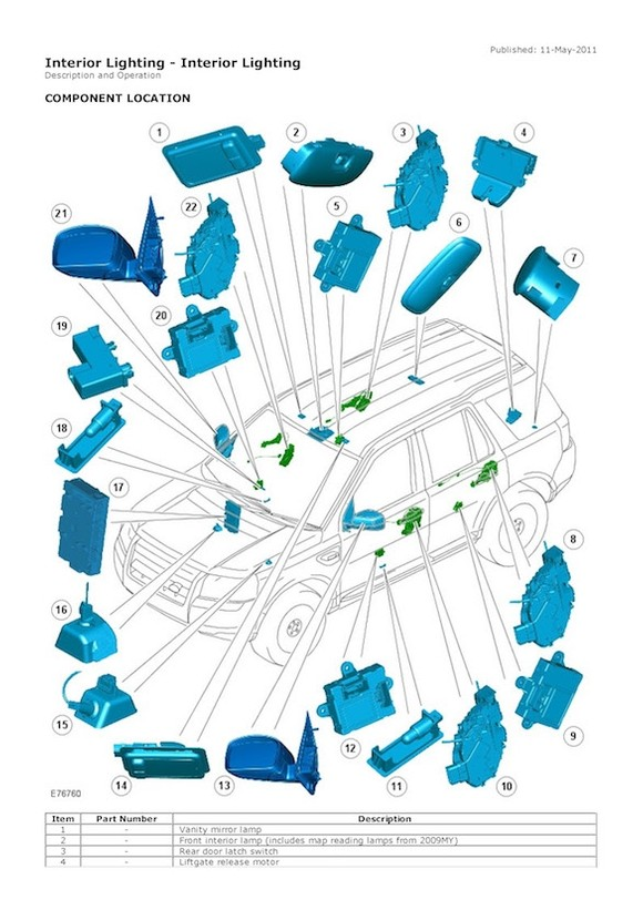 2006-2010, Land Rover Freelander 2, OEM Service and Re - OEM