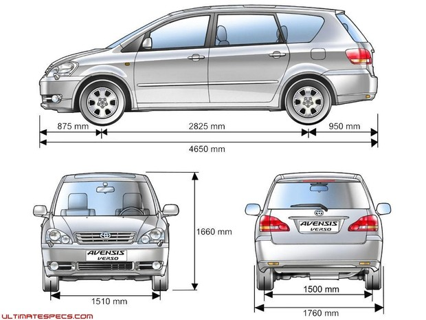 2007 Toyota Avensis Verso Factory Service and Repair Manual