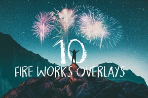 Fire Works Overlays