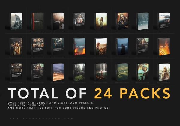 THE WHOLE SHOP | 24 Packs Bundle