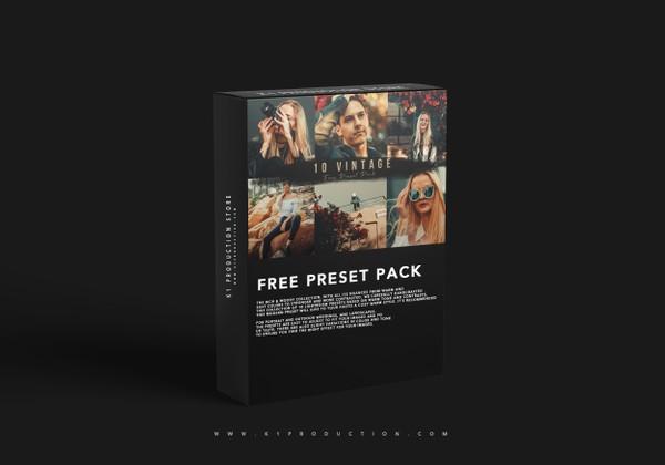 10 FREE VINTAGE PRESET