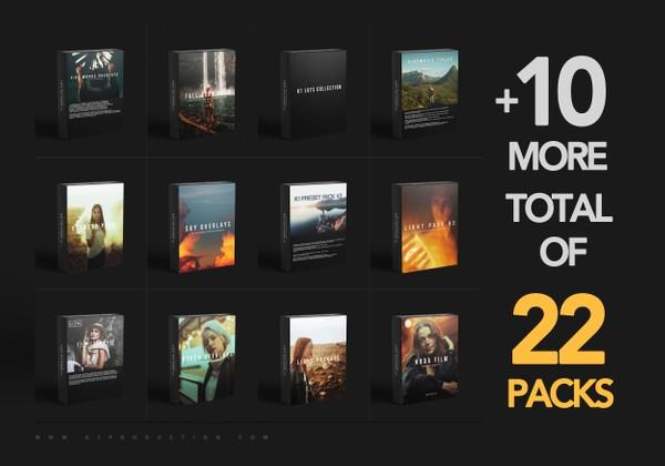 THE WHOLE SHOP | 22 Packs Bundle
